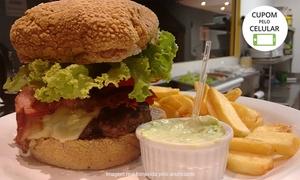 Meat Hamburgueria: Meat Hamburgueria – Trindade: hambúrguer, porção de batata e molho para 1 ou 2 pessoas