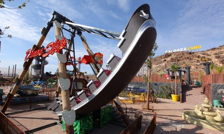 Marrakech : 10, 20 attractions ou accès illimité avec piscine en option pour 1 adulte ou 1 enfant au Palooza Land Parc