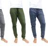 Galaxy by Harvic Men's Soft Knit Marled Pajama Jogger Pants (2-Pack)