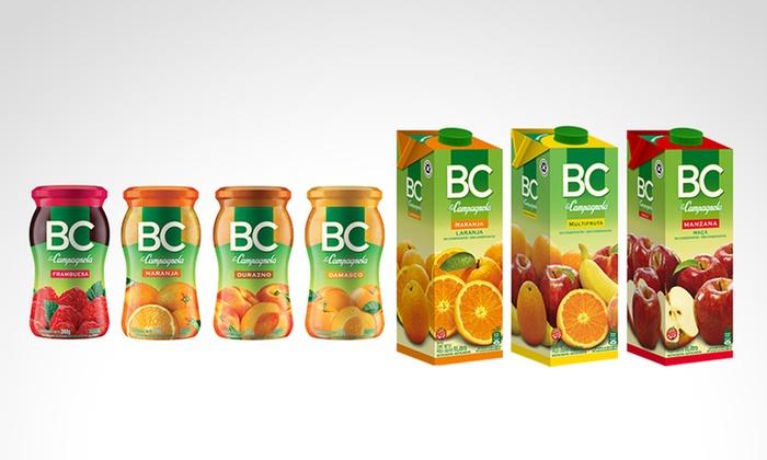 BC LA CAMPAGNOLA - Múltiples sucursales: Desde $95 en vez de $136 por jugos o mermeladas BC a elección con retiro en sucursal