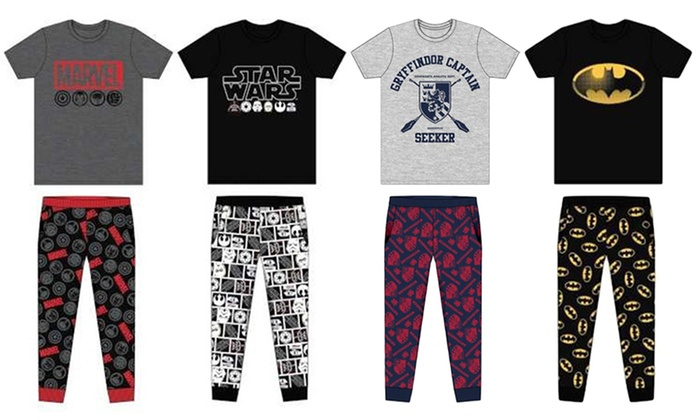 Men's Character Lounge Set from £12.49
