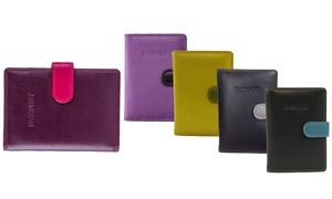 Visconti RFID Multicolored Passport Holder and Wallet
