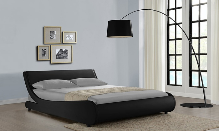 Galactic Curved Bed with Optional Mattress