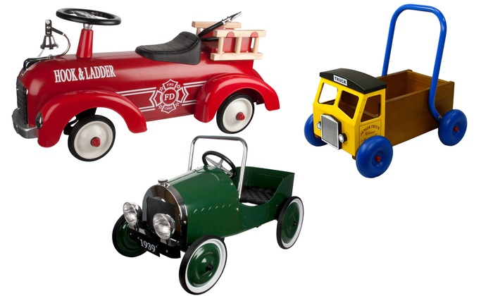 Great Gizmos Pedal Cars and Ride On Toys for £34.99