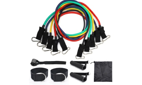 1 o 2 kits de ejercicios con bandas de resistencia de 11 piezas