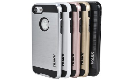 Slim Brushed Metal Case for iPhone 7 and 7 Plus