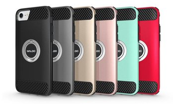Waloo Kickstand Case for iPhone for iPhone 6, 7, 8, 6+, 7+, or 8+