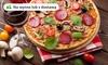 Chrupiąca pizza do nawet 40 cm