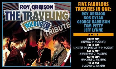 Roy Orbison and The Travelling Wildburys Tribute, 4 May - 1 September, Four Locations (Up to 42% Off)