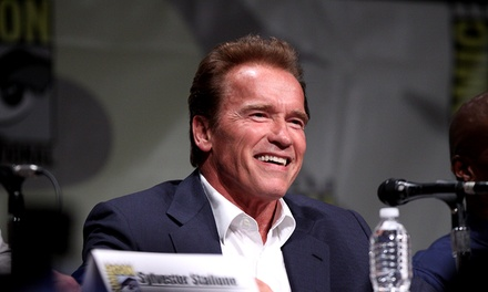 Arnold Schwarzenegger Live Onstage at Melbourne Convention & Exhibition Centre Tickets .50 Up to $159 Value