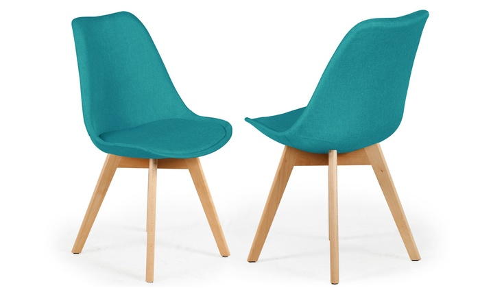 chaises scandinaves tissu conor - Chaises Scandinaves Couleur
