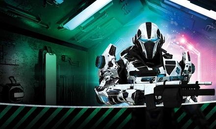 Two Games of Laser Quasar with refreshments for Four at Quasar Sheffield (50% Off)