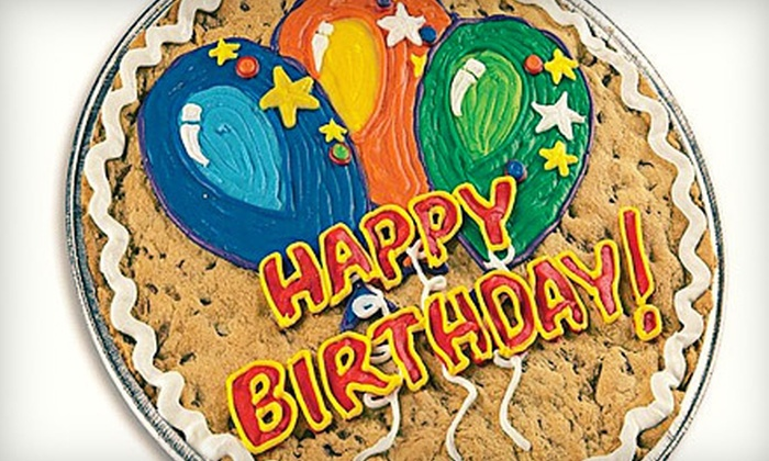 Cookies by Design - Medicine Lake: Decorated Cookie Cake or Two-Dozen Gourmet Cookies at Cookies by Design in Plymouth (53% Off)