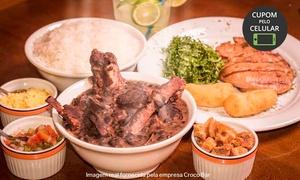 Croco Bar Restaurante: Croco Bar – Santo André: feijoada no sábado ou parmegiana no domingo para 1 ou 2 pessoas