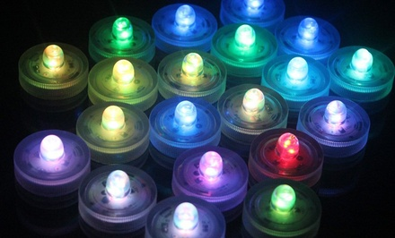 LED Waterproof Tea Lights. Multiple Options from $9.99–$24.99