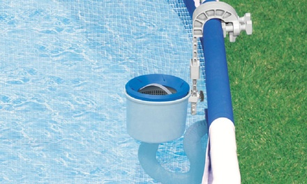 Intex Deluxe Wall Mounted Swimming Pool Surface Automatic Skimmer Groupon