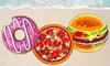 Serviettes de plage PMS International, taille XL et design nourriture