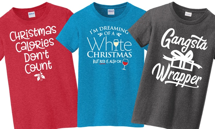 womens christmas tees plus sizes available
