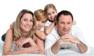 O'Brien Photographic Studios: Family Photoshoot with Print or at O'Brien Photographic Studios (88% Off)
