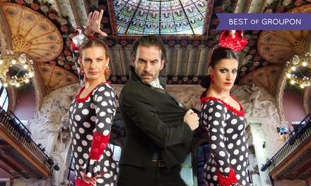 """2 entradas a """"Arte Flamenco"""" del 30 de marzo al 20 de octubre por 34,95 € en Palau de la Música Catalana Barcelona"""