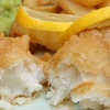 Cod with Chips for Two