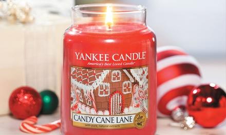 Large Jar Christmas Yankee Candle