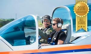איי פליי-טיסות אתגריות: טייס ליום אחד: הטסת מטוס עצמאית בליווי מדריך ב-499 ₪ בלבד! אופציה להוספת צילום וידאו HD