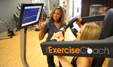 $52 for Five Smart20 Personal Training Sessions and Body Assessment at The Exercise Coach ($169.45 Value)