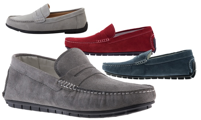 Mocassins cuir Eglem   Groupon Shopping cce21565818c
