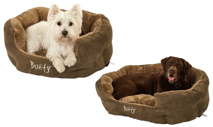 Bunty Polar Cosy Pet Bed in Choice of Size for £11.99