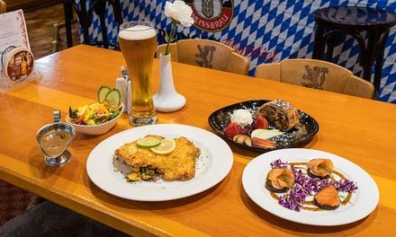 German 3Course Dining with Beer: 2 $49, 4 $97 or 6 People $145 at German Club Tivoli Up to $318 Value