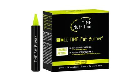 Fino a 4 mesi di monodosi effetto brucia grassi e detox Time Fat Burner da 16,98 € (fino a 65% di sconto)