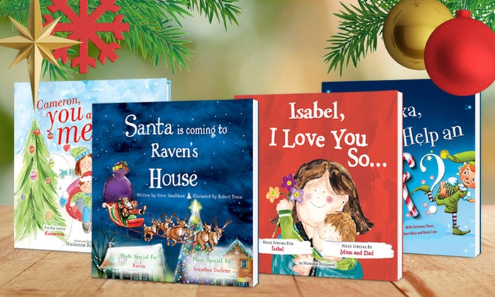personalized christmas kids books up to 58 off