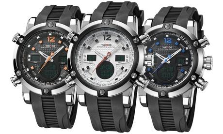 Reloj deportivo multifunción duo analógico y digital disponible en varios colores Oferta en Groupon