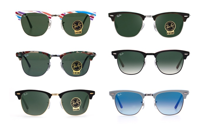 dae9c10871ae0 Ray-Ban® - From  109 for Clubmaster Classic Sunglasses with Choice of  Frames and Lenses (Don t Pay Up to  309.95)
