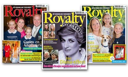 Ontvang 720 keer Royalty magazine thuis, je abonnement stopt automatisch