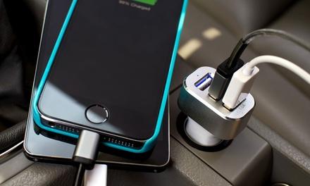 Chargeur pour voiture avec 3 ports USB , ultra-rapide