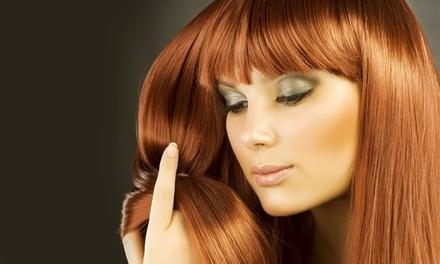 Shampoing, coupe et brushing, option couleur ou mèches, dès 19,90 € au salon de coiffure Sa Décoiff