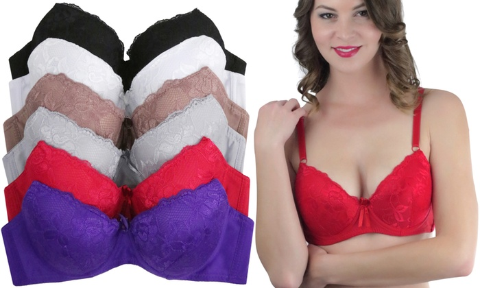 21c12d8478c4e Lace Lightly-Lined Bra (6-Pack)