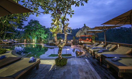 Bali, Ubud: Sunrise/Jungle or Panoramic Villa for Two with Breakfast and Activities at Nandini Bali Jungle Resort & Spa