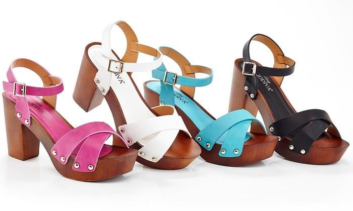 Lady Godiva Womens Sandals Groupon Goods