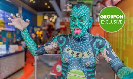 Ripley's Believe It or Not! Child $8, Adult $15 or Family Ticket $45 at Surfers Paradise Up to $79.60 Value