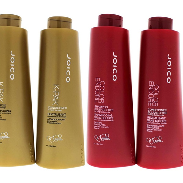 Joico Moisture Recovery, K-Pak Color, or Color Endure Shampoo and  Conditioner Duos