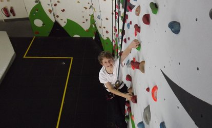 image for Indoor Climbing for One or Two at Golden Gecko