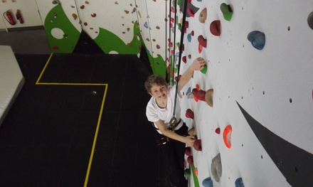 Indoor Climbing for One or Two at Golden Gecko