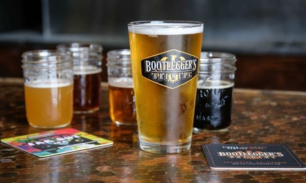 Beer Flights and Crowler for Two, Four, or Six People at Bootlegger's Brewery - Redlands (Up to 48% Off)
