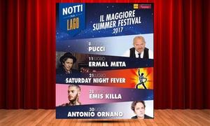 Show Bees : Notti sul Lago: Il Maggiore Summer Festival a Verbania con Pucci e Ermal Meta, dall'8 al 30 luglio