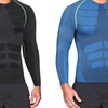 Men's Full-Sleeve Shirt with Targeted Compression