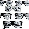 Bride and Bridesmaid Wedding Party Sunglasses (6-Pack)