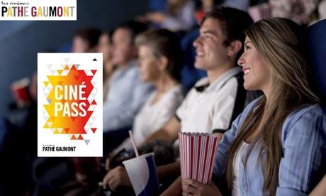 CinéPass Adulte 1 an ou CinéPass -26 ans 6 mois dès 109€ dans les cinémas Pathé Gaumont